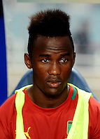 Football Fifa Brazil 2014 World Cup Matchs-Qualifier / Africa - Play-Off / <br /> Tunisia vs Cameroon 0-0  ( Olympic Stadium of Rades , Tunis-Rades , Tunisia ) <br /> Fabrice OLINGA of Cameroon , during the match between Tunisia and Cameroon
