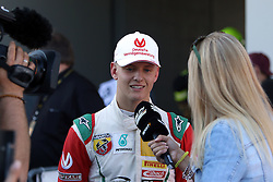 Mick Schumacher im Interview beim ADAC Formel 4 Rennen am Nürburgring / 070816<br /> <br /> *** ADAC Formula 4 2016 on August 7, 2016 at Nurburgring, Germany ***