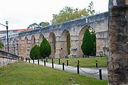 Sao Sebastiao Aqueduct  Garden Arches, Coimbra, Portugal