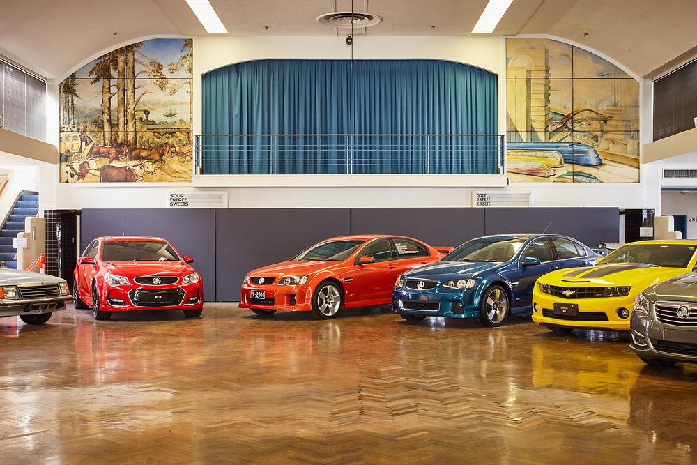 GM Holden Social Centre, Port Melbourne, 2017
