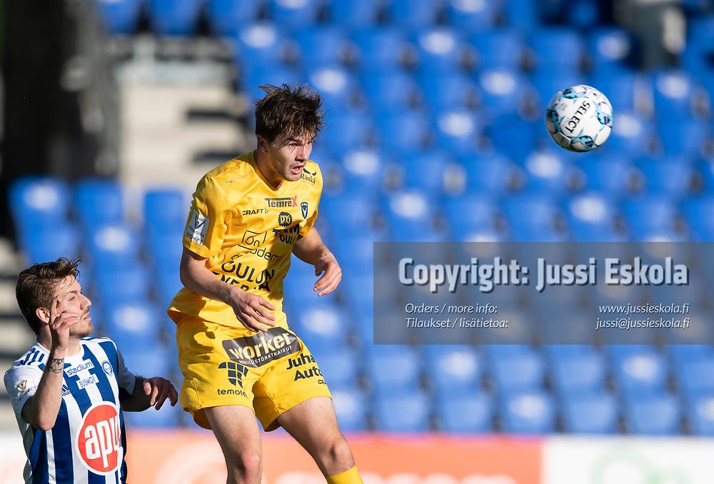 Miika Koskela. HJK - AC Oulu. Veikkausliiga. Helsinki 28.5.2021. Photo: Jussi Eskola
