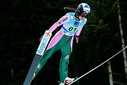 Marta Krepelkova of Czech Republic competes during Team Competition at Day 2 of World Cup Ski Jumping Ladies Ljubno 2019, on February 9, 2019 in Ljubno ob Savinji, Slovenia. Photo by Matic Ritonja / Sportida