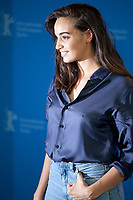 Souheila Yacoub at the photocall for the film The Salt of Tears (Le Sel des Larmes) at the 70th Berlinale International Film Festival, on Saturday 22nd February 2020, Hotel Grand Hyatt, Berlin, Germany. Photo credit: Doreen Kennedy