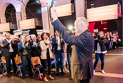 07.04.2016, Congress, Innsbruck, AUT, Wahlkampfauftakt Andreas Khol zur Präsidentschaftswahl 2016, im Bild Praesidentschaftskandidat Andreas Khol (OeVP) // Candidate for Presidential Elections Andreas Khol (OeVP) during campaign opening according to the austrian presidential elections at the Congress in Innsbruck, Austria on 2016/04/07. EXPA Pictures © 2016, PhotoCredit: EXPA/ Johann Groder