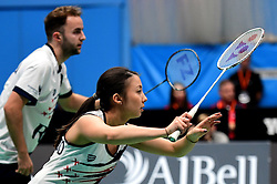 Emily Westwood of Bristol Jets and Ben Lane of Bristol Jets  - Photo mandatory by-line: Robbie Stephenson/JMP - 07/11/2016 - BADMINTON - University of Derby - Derby, England - Team Derby v Bristol Jets - AJ Bell National Badminton League