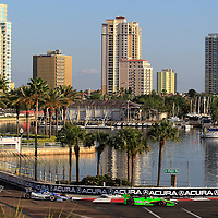 23-25 March, 2012, St Petersburg, Florida USA<br /> James Hinchcliffe leads Takuma Sato.<br /> (c)2012, Phillip Abbott<br /> LAT Photo USA