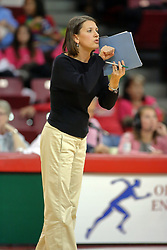 29 October 2011: Tonya Sunga During a match between the Creighton Bluejays and the Illinois State Redbirds at Redbird Arena in Normal Illinois