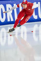 11-12-2016 NED: ISU World Cup Speed Skating, Heerenveen<br /> Sebastian Klosinski POL op de 1000 m