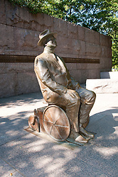 Franklin Delano Roosevelt Memorial, Washington, DC, dc124605