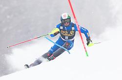 Stefano Gross (ITA) during 1st run of Men's Slalom race of FIS Alpine Ski World Cup 57th Vitranc Cup 2018, on March 4, 2018 in Kranjska Gora, Slovenia. Photo by Urban Meglič / Sportida