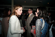 MELISSA GEORGE; Eilidh MacAskill , Editor of Instyle. InStyle Best Of British Talent , Shoreditch House, Ebor Street, London, E1 6AW, 26 January 2011