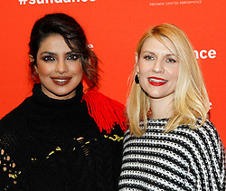 "Priyanka Chopra and Claire Danes at the premiere of ""A Kid Like Jake"" during the 2018 Sundance Film Festival held at the Eccles Theatre on January 23, 2018 in Park City, UT. 23 Jan 2018 Pictured: Priyanka Chopra and Claire Danes. Photo credit: JPA / AFF-USA.COM / MEGA TheMegaAgency.com +1 888 505 6342"