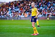Arsenal Women defender Leah Williamson (6) during the FA Women's Super League match between Manchester City Women and Arsenal Women FC at the Sport City Academy Stadium, Manchester, United Kingdom on 2 February 2020.