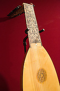 A contemporary lute made by Gamut Music of Duluth, Minnesota.
