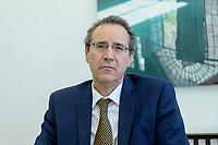 01 JUL 2020, BERLIN/GERMANY:<br /> Miguel Berger, Staatssekretaer im Auswärtigen Amt, Geschaeftsstelle SPD Wirtschaftsforum<br /> IMAGE: 20200701-01-020