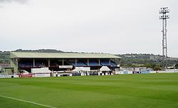 Bath City's ground, Twerton Park - Mandatory by-line: Neil Brookman/JMP - 26/07/2017 - FOOTBALL - Twerton Park - Bath, England - Bath City v Bristol Rovers - Pre-season friendly