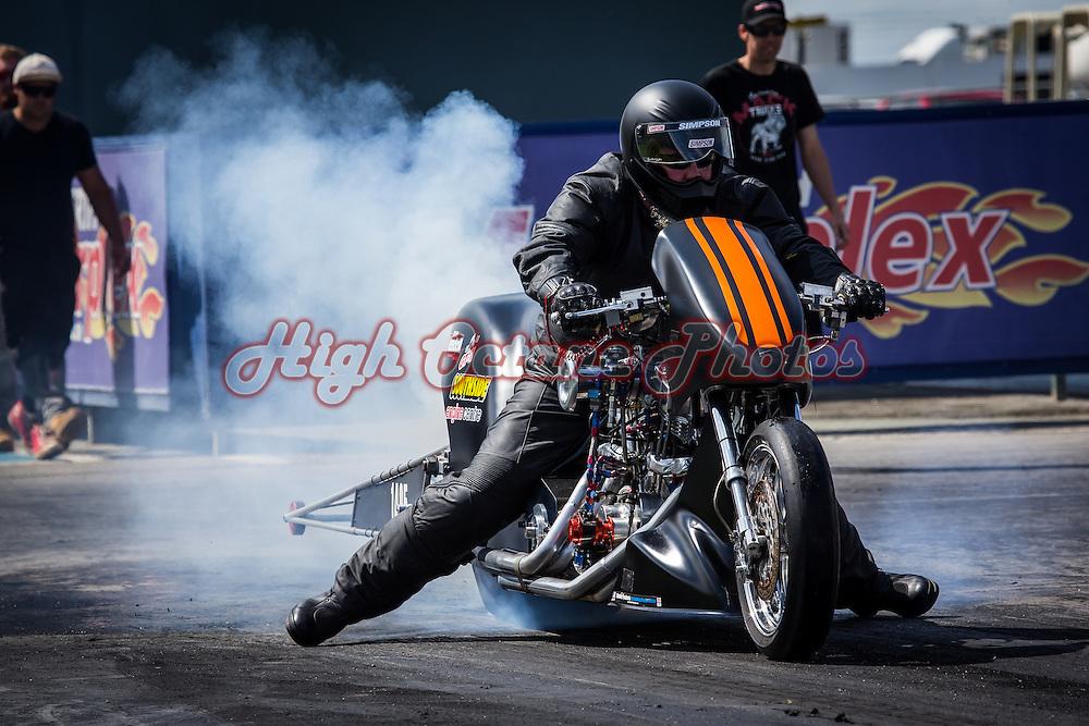 Peter Vanderaa (1495) - Nitro Harley-Davidson - Top Fuel Motorcycle.