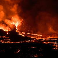 Volcano Eruption, Iceland 2021