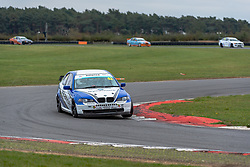 Steven Schweikhardt pictured while competing in the BMW Car Club Racing Championship. Picture taken at Snetterton on October 18, 2020 by 750 Motor Club photographer Jonathan Elsey