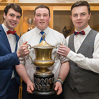Cooraclare Minor Football Players Rory McLoone, Mark Cunningham and Ciaran O'Donoghue