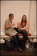 GEORGIE JOHNSON; MARTHA ELLIS-LEACH, Mario Merz, Pace Gallery.  at 6 Burlington Gardens, 25 September 2014.