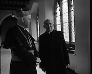 Bishops meeting Maynooth.09/03/1971
