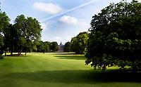VLEUTEN - Hole 9 / 18 van Golfclub De Haar. Op de achtergrond Kasteel Haarzuilens. COPYRIGHT KOEN SUYK