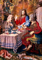 """Dinner at Emmaus - Gallery of the Tapestries Vatican Museum""…<br />