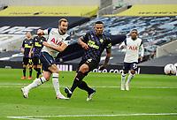 Football - 2020 /2021 Premier League - Tottenham Hotspur vs Newcastle United<br /> <br /> Harry Kane of Tottenham shoots, at the Tottenham Hotspur Stadium.<br /> <br /> COLORSPORT/ANDREW COWIE