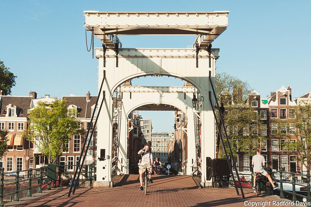 Magere Brug, bridge, Amsterdam, The Netherlands
