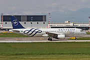 HZ-ASF Saudi Arabian Airlines Airbus A320-214 at Malpensa (MXP / LIMC), Milan, Italy