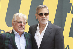 May 13, 2019 - Rome, italy - Rome, photocall TV series ''Catch-22''. In the photo: George Clooney and Giancarlo Giannini (Credit Image: © Marco Provvisionato/IPA via ZUMA Press)