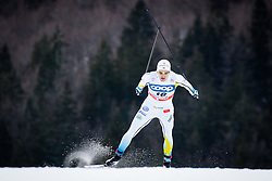 Peterson Teodor (SWE) during Man 1.2 km Free Sprint Qualification race at FIS Cross<br /> Country World Cup Planica 2016, on January 16, 2016 at Planica,Slovenia. Photo by Ziga Zupan / Sportida