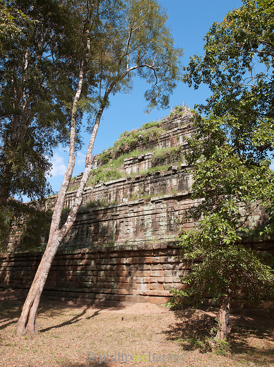 The temple of Prasat Thom at Koh Ker, northern Cambodia