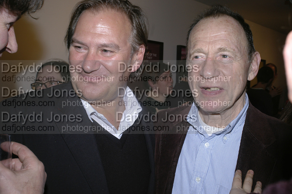 James Birch and Anthony Haden-Guest, Art Monthly 30th birthday party. Hayward Gallery. 26 October 2006. -DO NOT ARCHIVE-© Copyright Photograph by Dafydd Jones 66 Stockwell Park Rd. London SW9 0DA Tel 020 7733 0108 www.dafjones.com