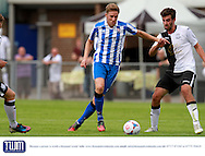 Asa Hall during the Pre-Season Friendly match between Weston Super Mare and Cheltenham Town at the Woodspring Stadium, Weston Super Mare, United Kingdom on 18 July 2015. Photo by Carl Hewlett