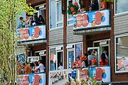 Koningsdag 2014 in Amstelveen, het vieren van de verjaardag van de koning. / Kingsday 2014 in Amstelveen, celebrating the birthday of the King.