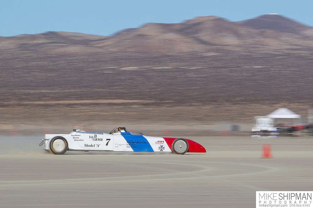 Aardema Braun Sheridan, 7, eng Vg, body BGRMR, driver Calvin Rothe, 165.245 mph, previous record 160.000