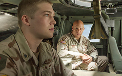 RELEASE DATE: November 18, 2016 TITLE: Billy Lynn's Long Halftime Walk STUDIO: Sony Pictures Entertainment DIRECTOR: Ang Lee PLOT: 19-year-old Billy Lynn is brought home for a victory tour after a harrowing Iraq battle. Through flashbacks the film shows what really happened to his squad - contrasting the realities of war with America's perceptions STARRING: Vin Diesel as Shroom, Joe Alwyn as Billy (Credit: © Sony Pictures Entertainment/Entertainment Pictures)
