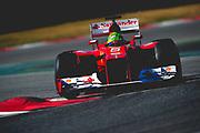 February 21, 2012: Formula One Testing, Circuit de Catalunya, Barcelona, Spain. Felipe Massa, Ferrari F2012