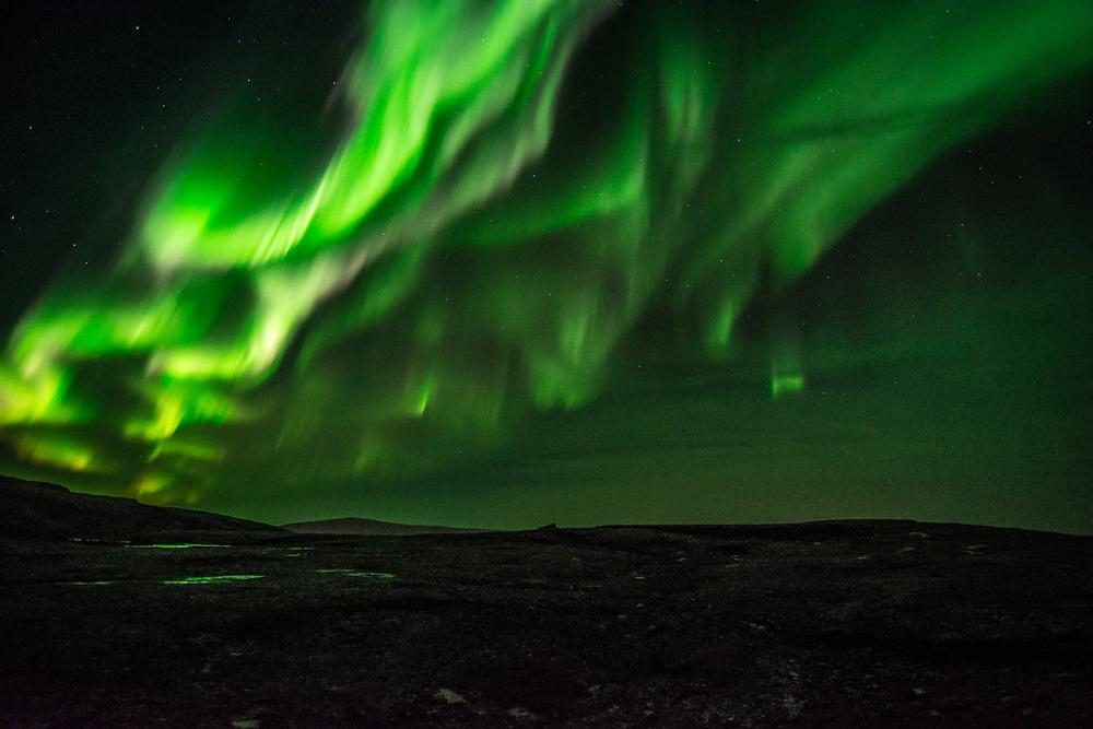 A beautiful aurora the night September 17, 2017