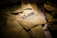 A US Army jacket at a war museum near Khe San in central Vietnam.