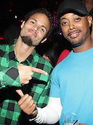 """l to r: Quudus and Balawa Mason at The YRB Magazine's """" How You Rock It 3 """" with a special performance by Busta Ryhmes and hosted by YRB held at M2 Lounge on May 19, 2009 in New York City."""