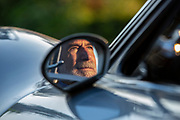 Image of a silver Ferrari Dino 246 GTS coupe, Seattle, Washington, Pacific Northwest by Ferrari photographer Randy Wells