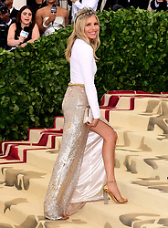 Sienna Miller attending the Metropolitan Museum of Art Costume Institute Benefit Gala 2018 in New York, USA.