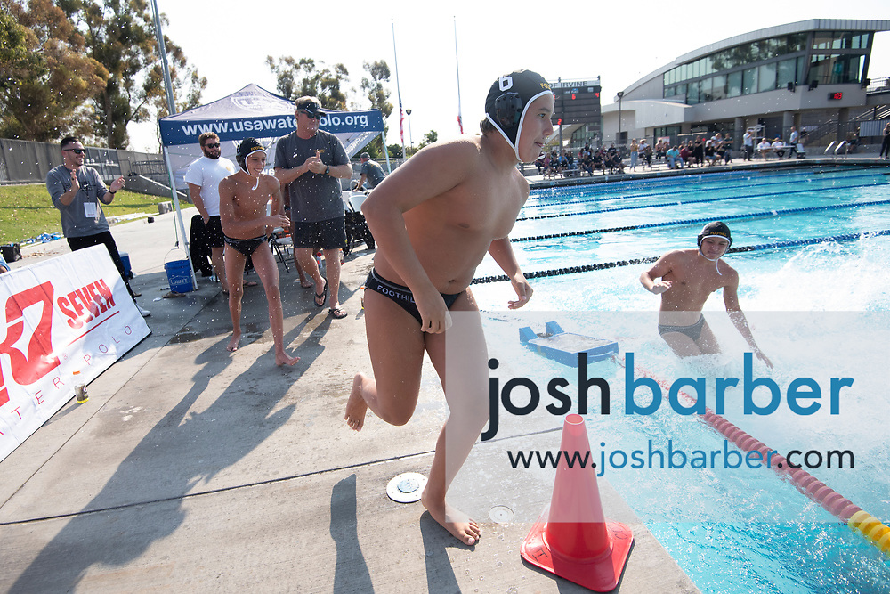 Foothill's Jagger McMannis at William Woollett Jr. Aquatic Center on Saturday, November 10, 2018 in Irvine, Calif. (Photo by Josh Barber, Contributing Photographer)