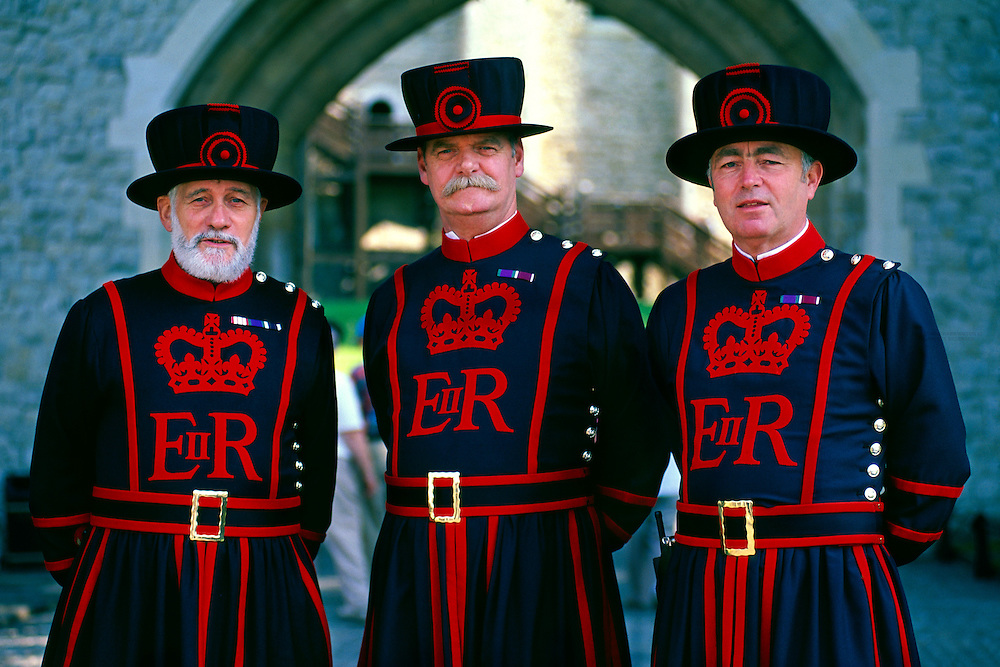 Beefeaters (Yeomen Warder), The Tower of London, London, England