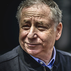 May 13, 2018 - Barcelona, Catalonia, Spain - FIA president JEAN TODT walks the paddock prior the Spanish GP at Circuit de Barcelona - Catalunya (Credit Image: © Matthias Oesterle via ZUMA Wire)