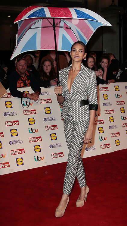 Pride of Britain Awards 2014 Red Carpet Arrivals at The Grosvenor House Hotel, London<br /> <br /> Photo Shows: Alesha Dixon<br /> ©Exclusivepix