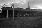 13/10/1963<br /> 10/13/1963<br /> Ireland v Austria, European Championship match at Dalymount Park, Dublin. Ireland won the game 3-2. Austria's equaliser enters the net with Alan Kelly well beaten.